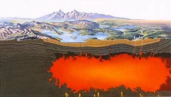 Yellowsone Magma Chamber
